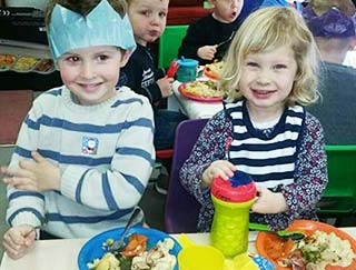 Sudbury nursery healthy eating